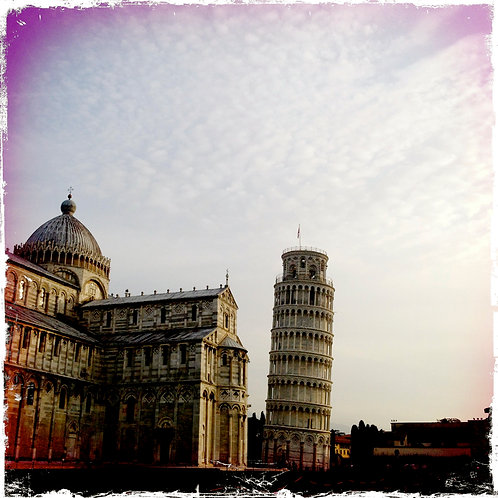 41. 8x8: The Leaning Tower: Pisa,Italy