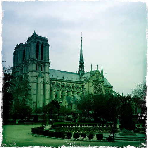 48. 8x8: Notre Dame Cathedral: Paris, France