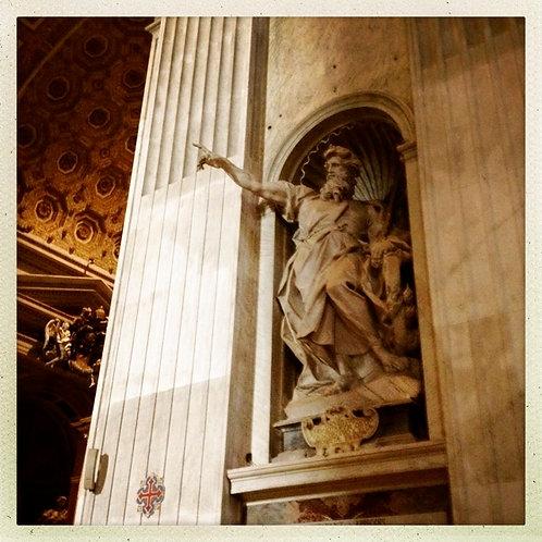 36. 12x12: Saint Elijah: Vatican City, Italy