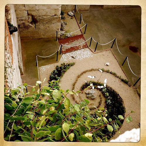 2. 38x38 Spiral Garden: Split, Croatia