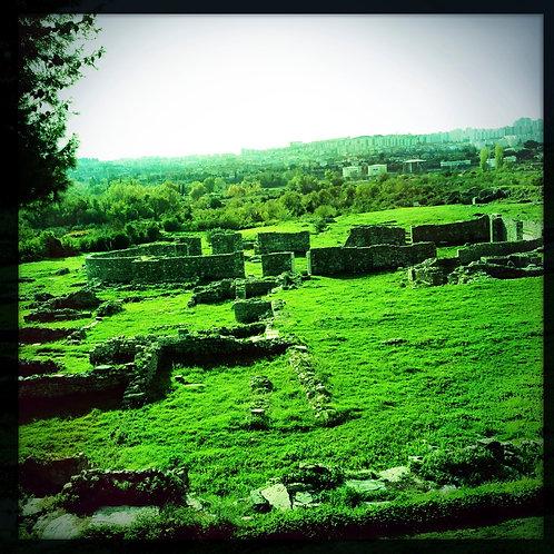 26. 12x12 View of the Ruins: Solin, Croatia