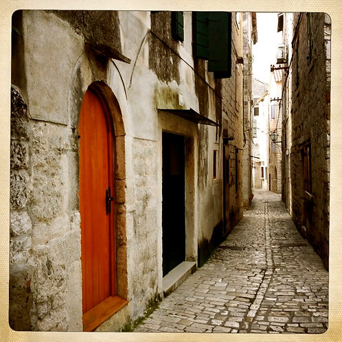 1. 38x38 Passing by the Orange Door: Split, Croat