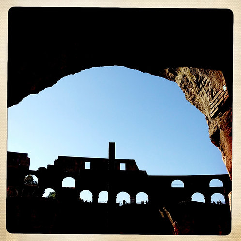 37. 20x20: Time in Silhouette: Rome, Italy