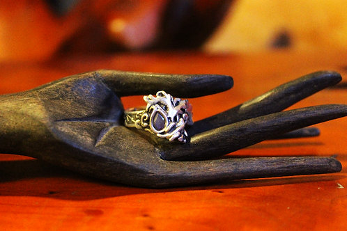 Gnarly Tree Fine Silver (.999) Ring
