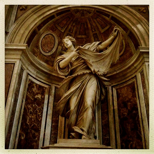52. 12x12: Saint Veronica: Vatican City, Italy