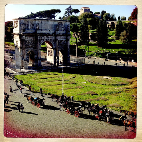 50. 38x38: The Arch of Constantine: Rome,