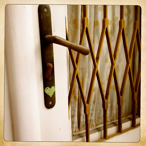 14. 12x12 Door with the Green Heart: Florence, It