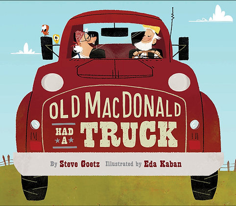 Old MacDonald Had a Truck - Board Book