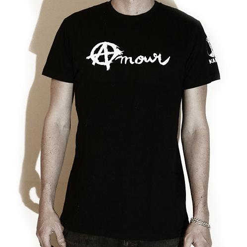 Tee shirt Amour noir (coupe mixte)