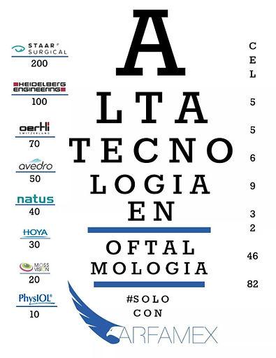 ARFAMEX TECNOLOGÍA EN OFTALMOLOGÍA