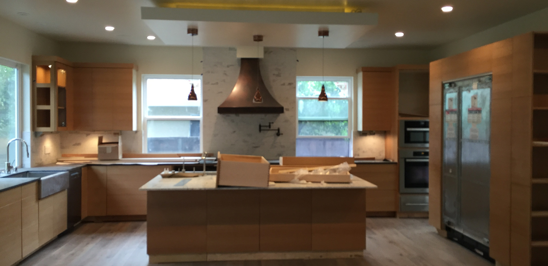 kitchen and house re-wire