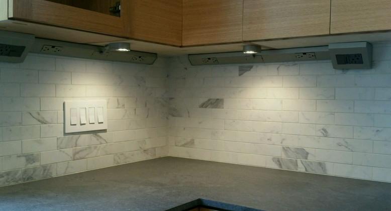 kitchen re-wire