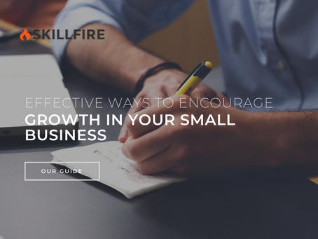 Effective Ways to Encourage Growth in Your Small Business