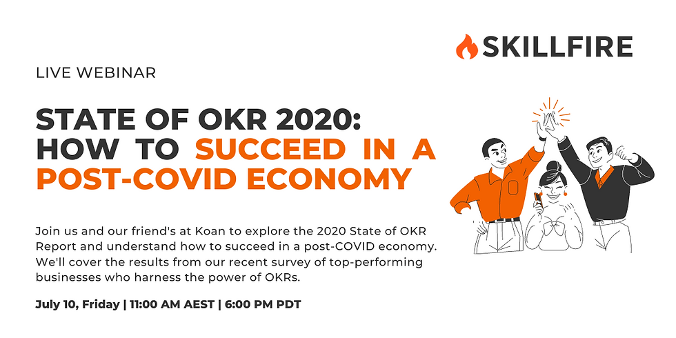 State of OKR 2020: How to Succeed in a Post-COVID Economy