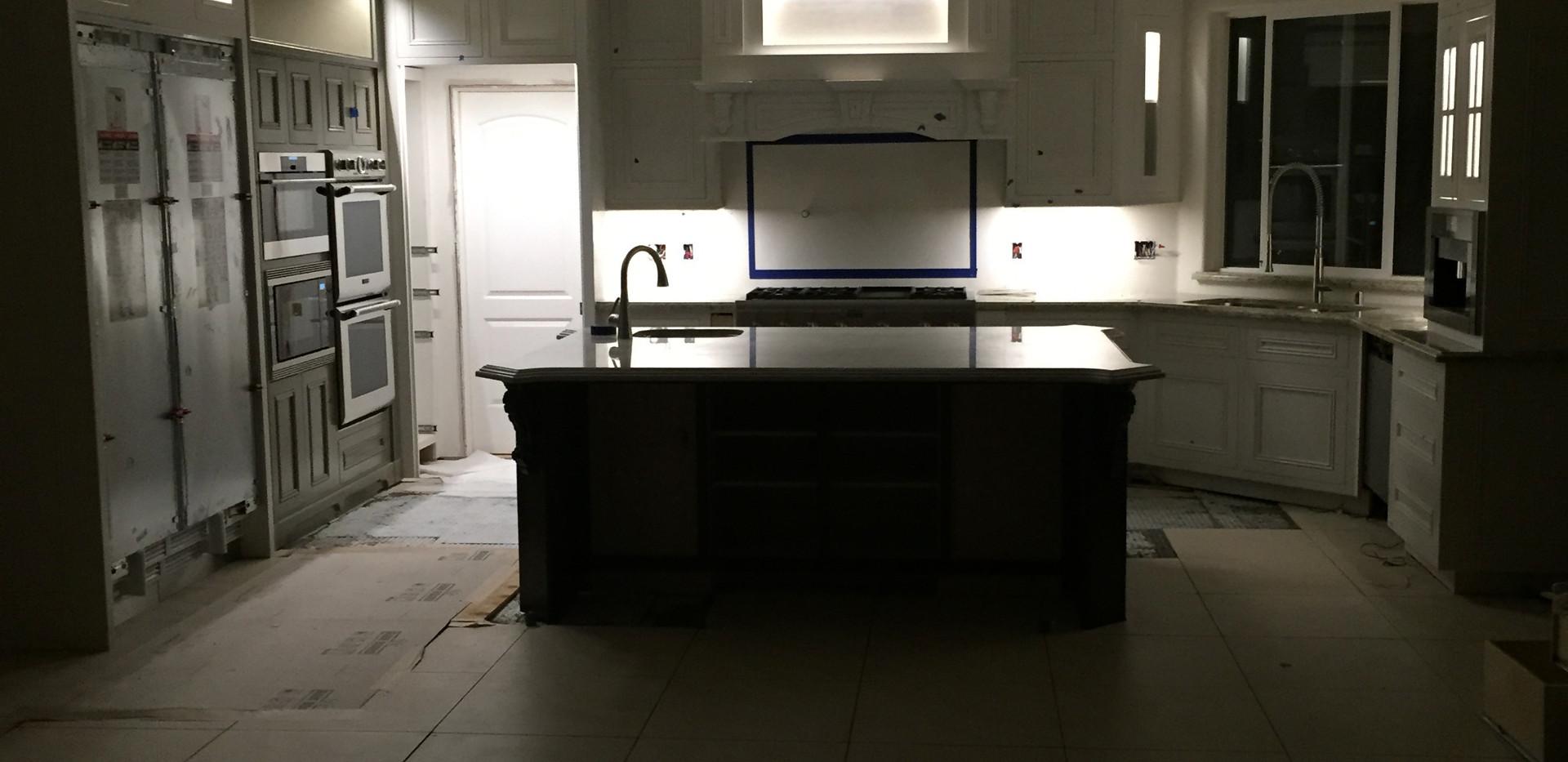 Fremont kitchen re-wire
