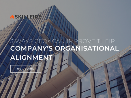 3 Ways CEOs Can Improve Their Company's Organisational Alignment