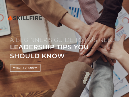 A Beginner's Guide To Business: Leadership Tips You Should Know
