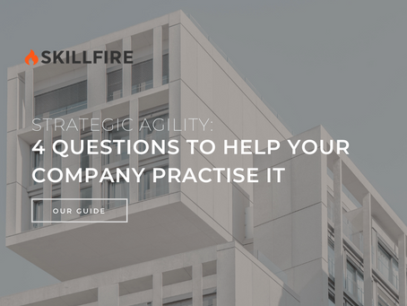 Strategic Agility: 4 Questions to Help Your Company Practise It