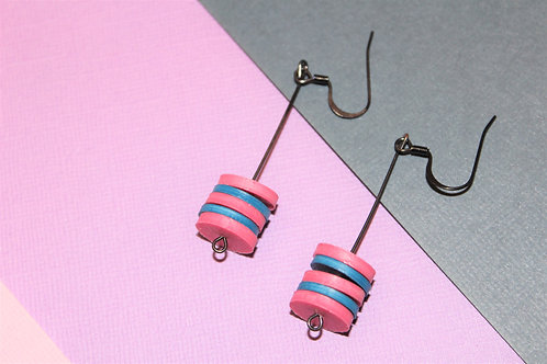 Cotton Candy Sweet Dangles