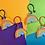 Thumbnail: LA Rainbows Wine Charms