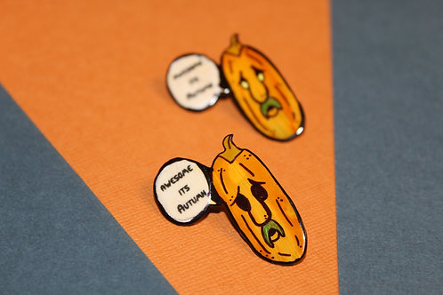 Awesome it's Autumn Pin
