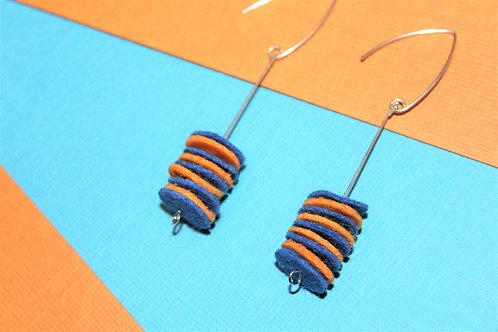 Orange and Blue Dangle Boys
