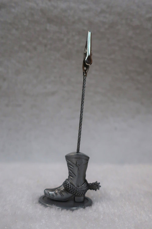 Boot Clip (Zinc)