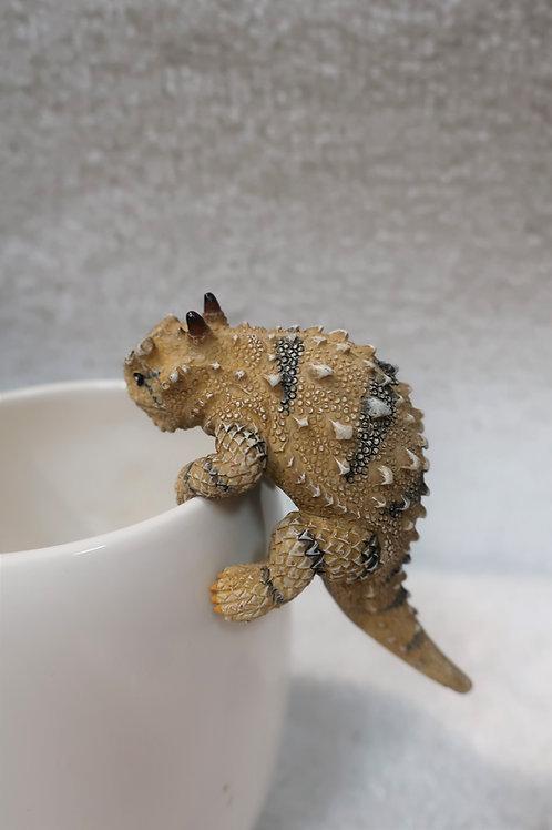 Horny Toad Pot Hanger