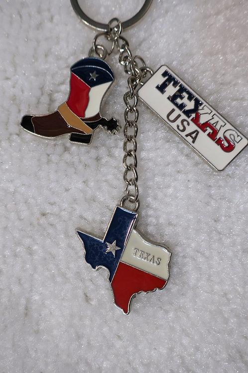 Texas Assemble Key Chain