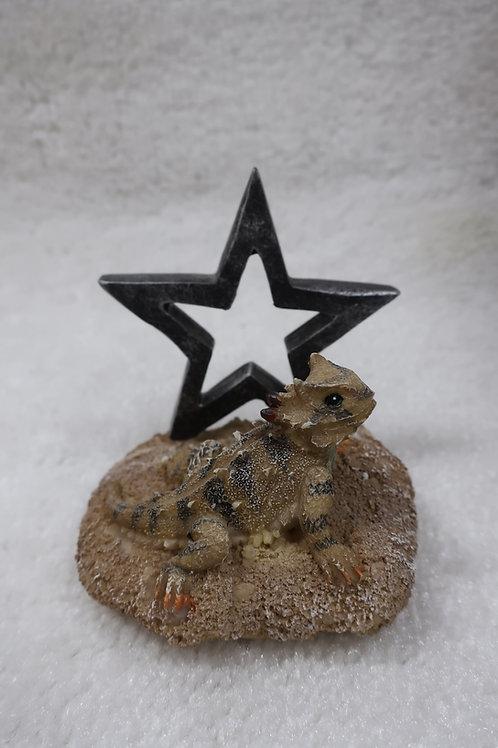 Horned Toad Card Holder