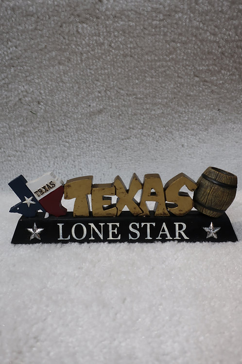 Texas Lone Star Figurine