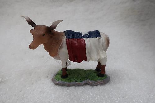 Mini Cow Figurine