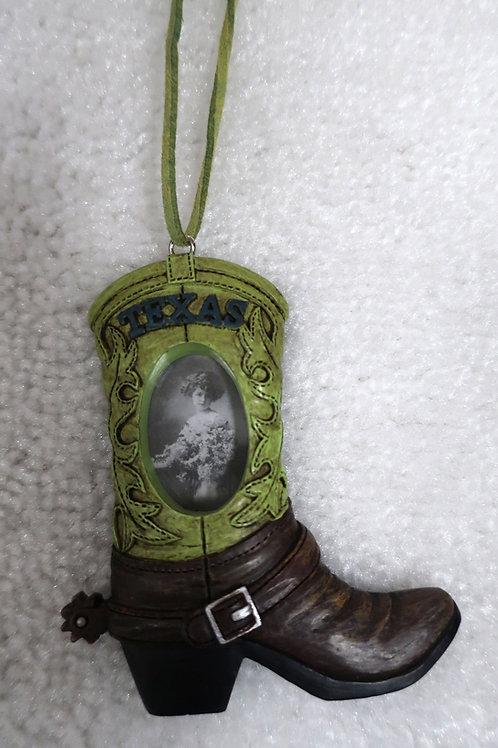 Green Boot Ornament