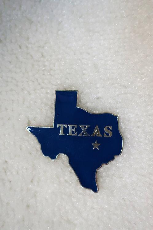 Blue Texas Magnet