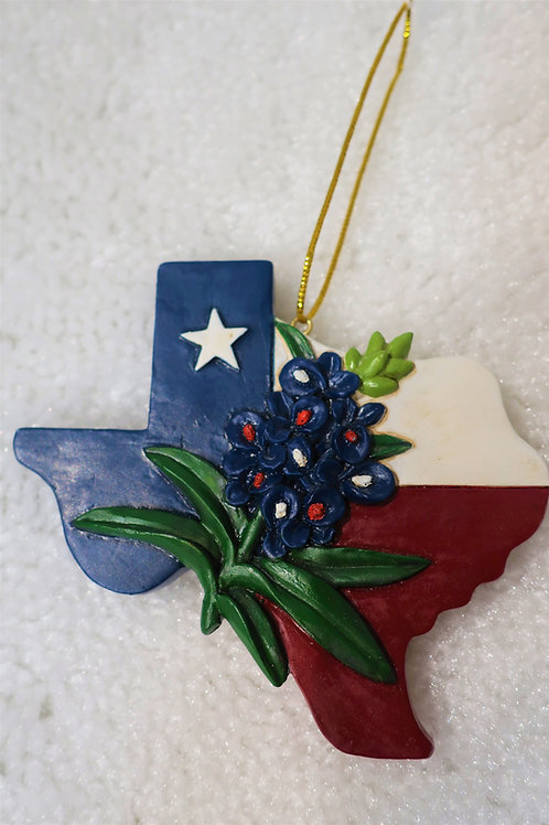 Texas Bluebonnet Ornament