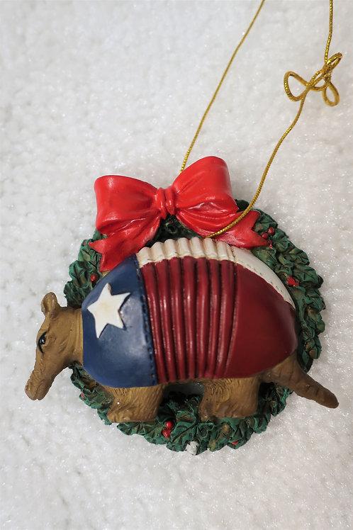 Texas Armadillo Ornament