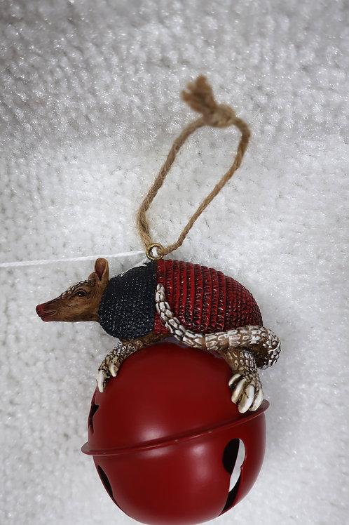 Armadillo Bell Ornament