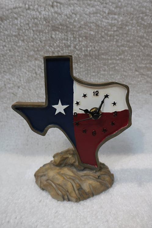 Texas Shape Clock