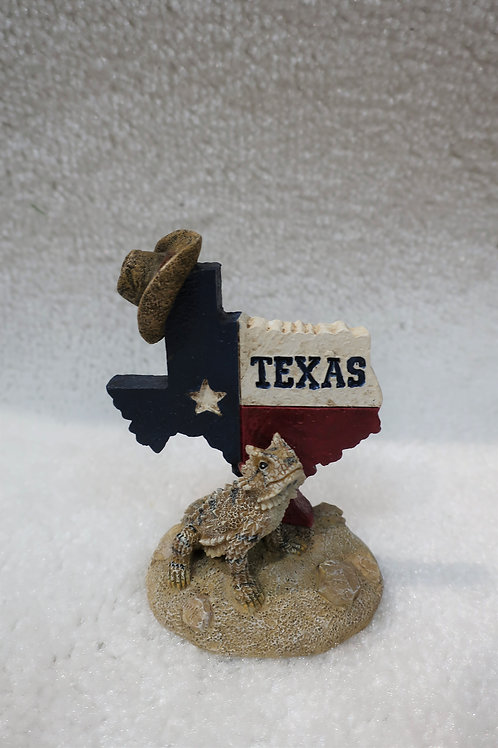 Horny Toad with Texas