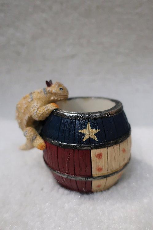 Horny Toad Pencil Holder