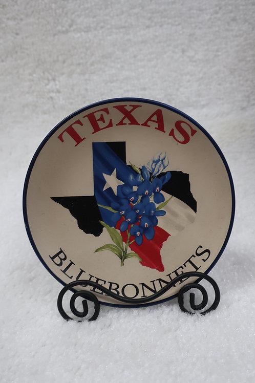 Texas Bluebonnet Plate with Rack