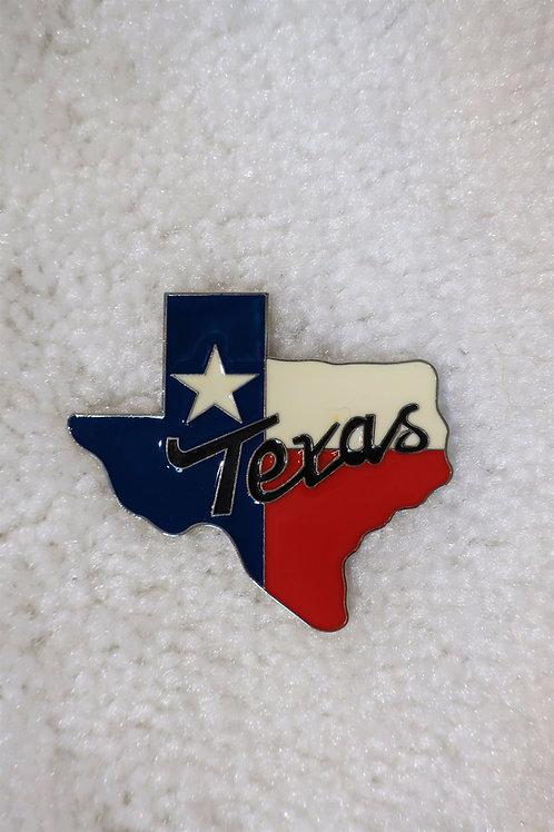 Texas Map Magnet