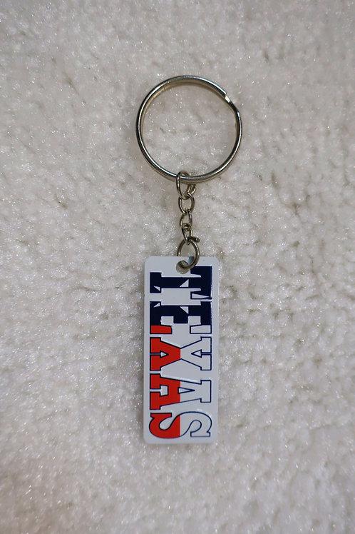 Metal TEXAS Key Chain