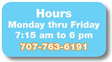 Childcare Hours and Phone Number