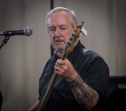 Pete playing