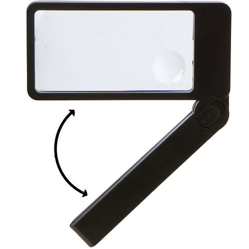 Magnifying Glass with LED Lights and Folding Handle