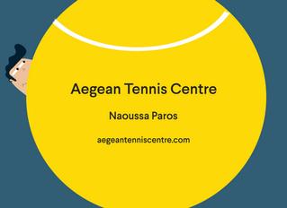 Aegean Tennis Centre Coming Soon