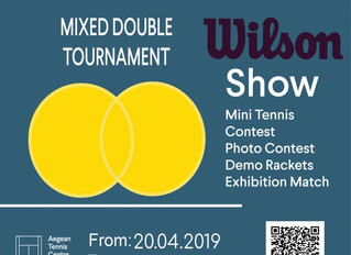 Open Mixed Double Tournament