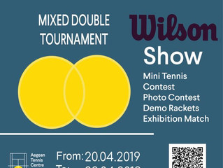 Open Mixed Double Tournament