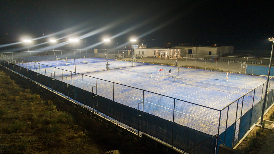 AEGEAN TENNIS CENTRE TENNIS COURTS LIGHT
